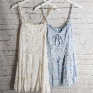 Liz Lisa Pastel Lace Dresses Bundle of Two XS S